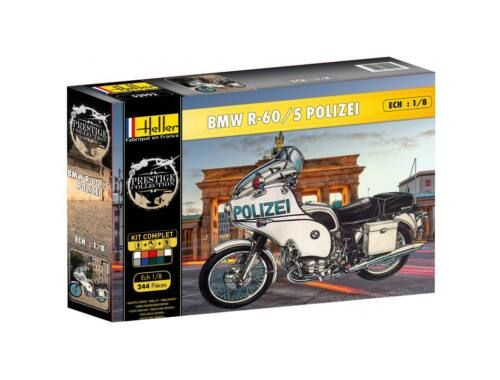 Heller Model Set BMW R-60/5 Polizei 1:8 (52993)