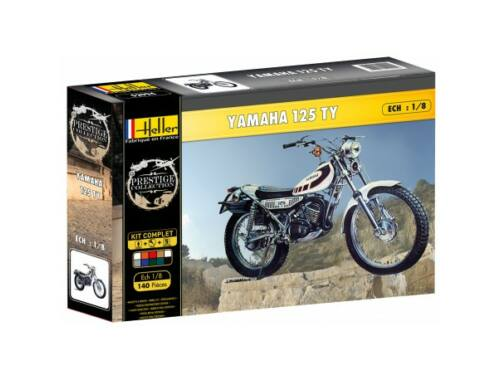 Heller Yamaha TY 125 1:8 (52994)