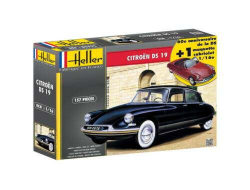 Heller Model Set Citroen DS 19 Cabrio 1:16 (85795)