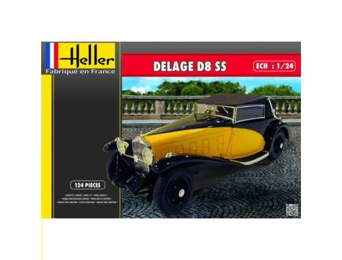Heller DELAGE D8 SS 1:24 (80720)