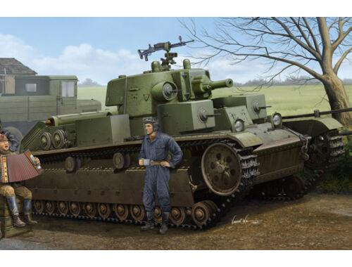 Hobby Boss Soviet T-28 Medium Tank (Cone Turret) 1:35 (83855)