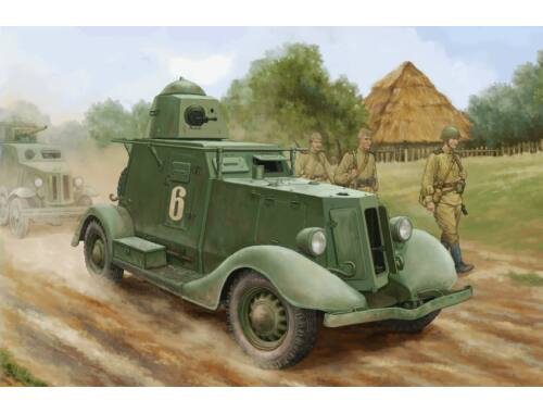 Hobby Boss Soviet BA-20 Armored Car Mod.1937 1:35 (83882)