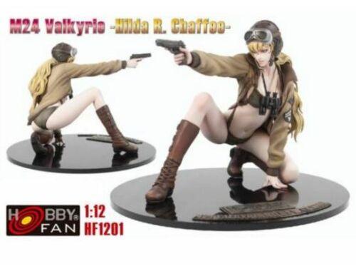 Hobby Fan M24 Valkyrie-Hilda Rilda R.Chaffee 1:12 (HF1201)