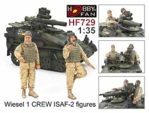 Hobby Fan Wiesel 1 Crew ISAF-2 figures 1:35 (HF729)