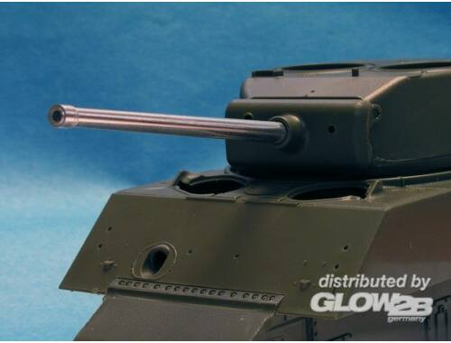 Lion Marc 76mm M1A1C Barrel f.Sherman w/Muzzle Pro Protector Ring (Tasca and DML) 1:35 (10039)