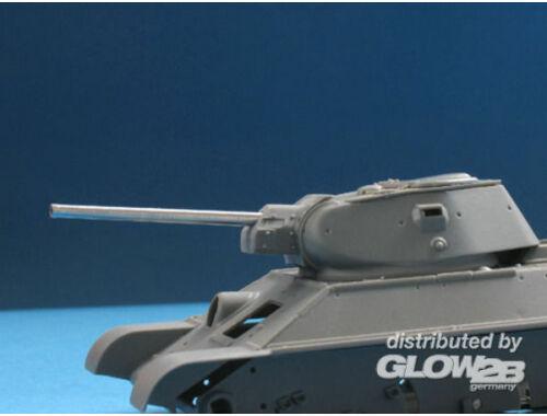 Lion Marc F34 76.2mm Barrel for T-34-76 1:48 (18000)