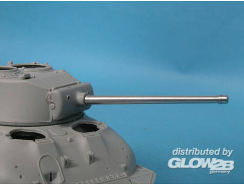 Lion Marc 76mm M1A1C Barrel for Shermann w/Muzzle Protector Ring 1:48 (18004)