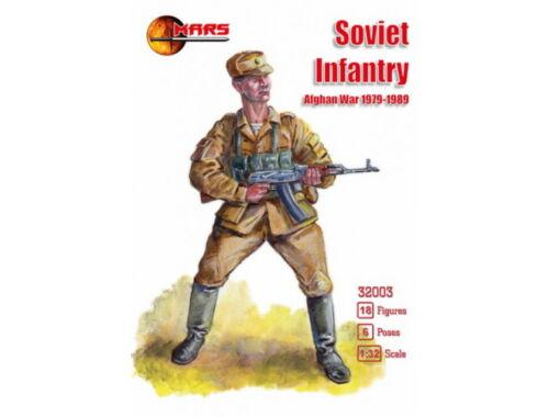 Mars Soviet infantry, Afghan War 1979-1989 1:32 (32003)