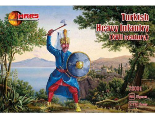 Mars Turkish heavy infantry, XVII century 1:72 (72091)