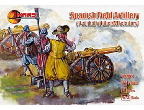 Mars Spanish field artillery, XVII century 1:72 (72092)