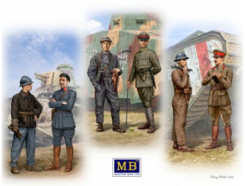 Master Box WWI Tankmen 1:35 (35134)