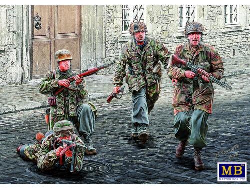 Master Box German Paratroopers, WWII era 1:35 (35145)