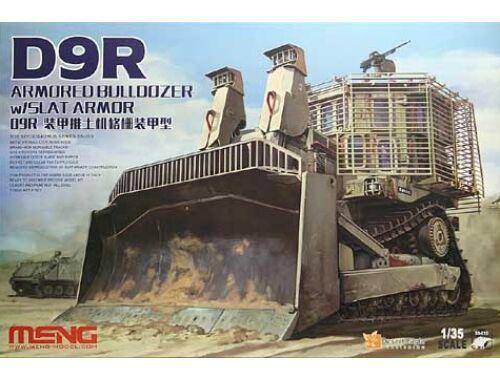 Meng D9R Armored Bulldozer W/Slat Armor 1:35 (SS-010)