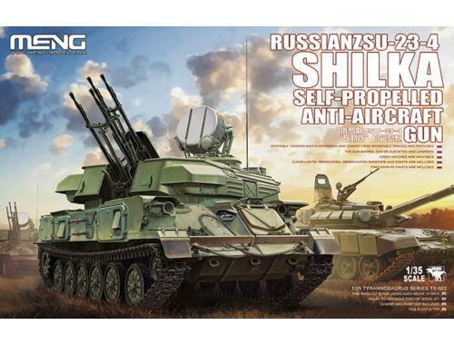 Meng Russian ZSU-23-4 Shilka Self-Propelled Anti-Aircraft Gun 1:35 (TS-023)