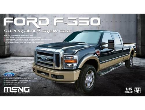 Meng FORD F-350 Super Duty Crew Cab 1:35 (VS-006)