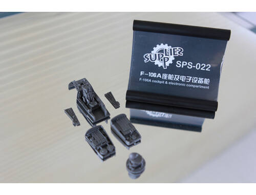 Meng F-106A Cockpit   Electronic Compartment (Resin) 1:72 (SPS-022)