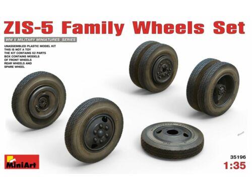 Miniart ZIS-5 Family Wheels Set 1:35 (35196)