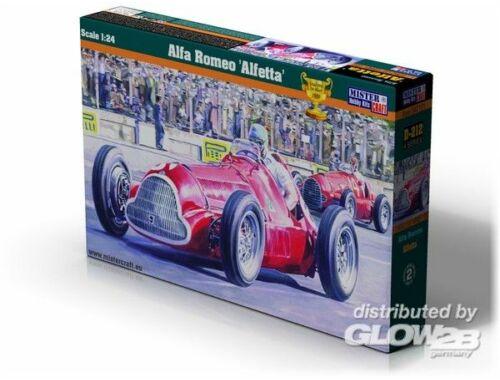 Mistercraft Alfa Romeo Alfetta 1:24 (D-222)