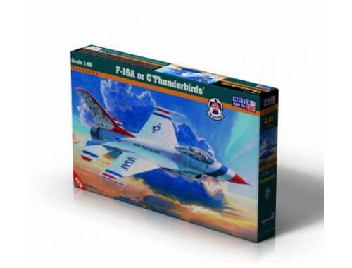 Mistercraft F-16 A or C Thunderbirds 1:48 (G-35)