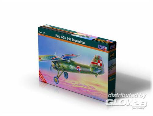Mistercraft PZL P-7 141 Esk. 1:72 (B-35)