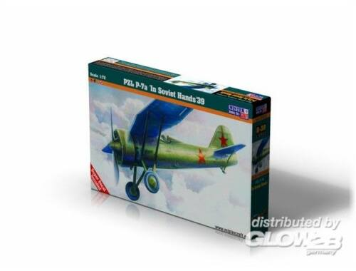 Mistercraft PZL P-7 In Soviet Hands 1:72 (B-38)