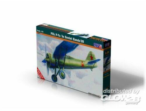 Mistercraft PZL P-7 In Soviet Hands 1:72 (B-38)