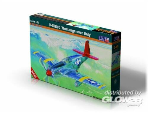 Mistercraft P-51 B-7 Mustangs over Italy 1:72 (C-105)