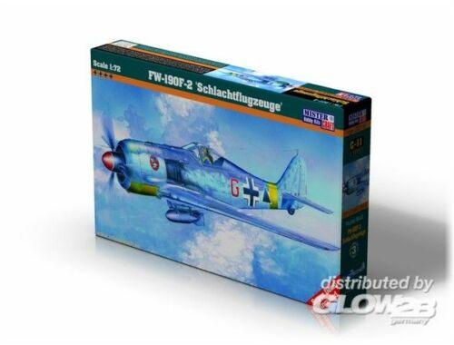 Mistercraft Fw-190F-2 Schlachtflugzeuge 1:72 (C-11)