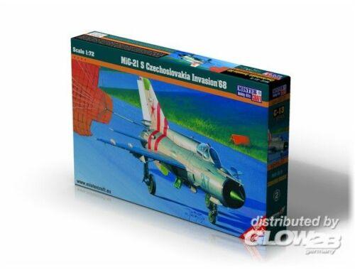 Mistercraft MiG-21S Czechoslovakia Inv68 1:72 (C-13)