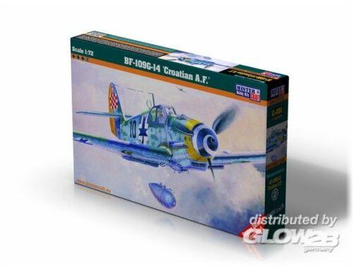 Mistercraft BF-109G-14 Croatian A.F. 1:72 (C-151)