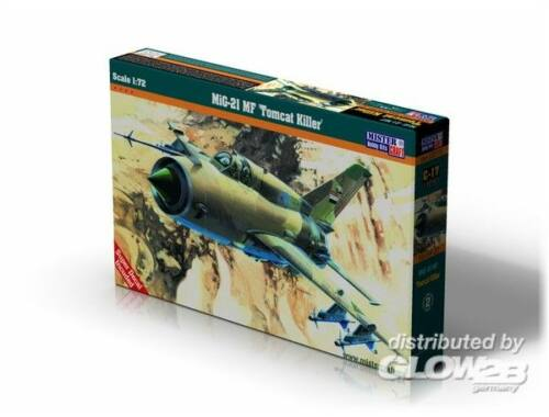 Mistercraft MiG-21MA'Pin up Girl 1:72 (C-17)