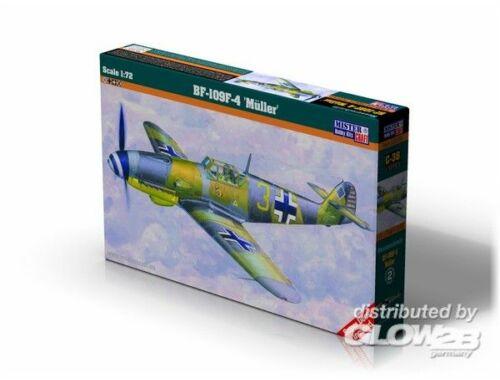 "Mistercraft BF-109f-4 ""Muller"" 1:72 (C-38)"