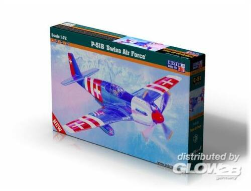 Mistercraft P-51 B Swiss Air Force 1:72 (C-51)