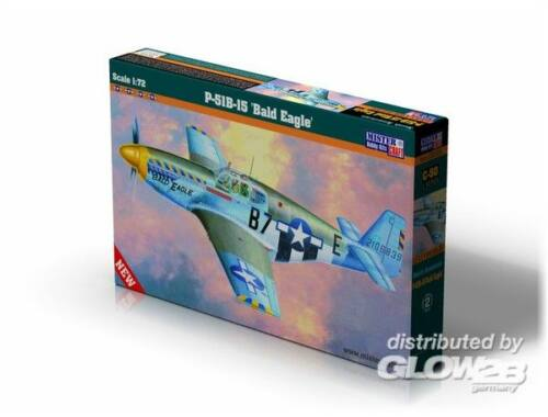 Mistercraft P-51 B-15 Bald Eagle 1:72 (C-54)