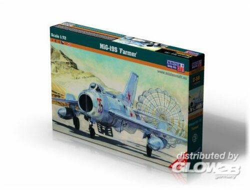 Mistercraft MiG-19S Farmer 1:72 (C-58)
