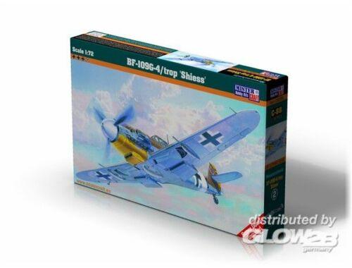 Mistercraft BF-109G-4/trop Shiess 1:72 (C-88)