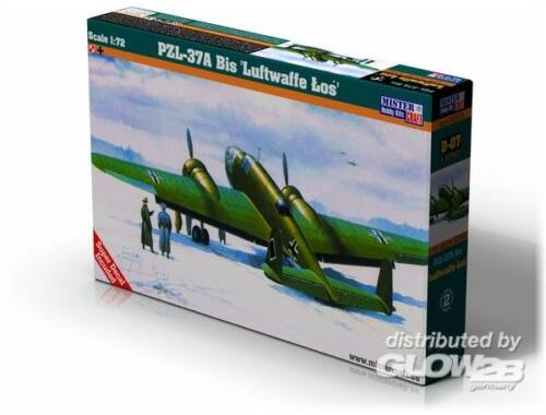 Mistercraft PZL P-37A Los I Luftwaffe 1:72 (D-07)