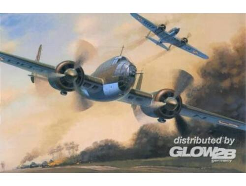 Mistercraft PZL P-37B Los II 1:72 (D-08)