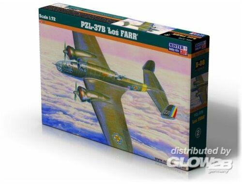 Mistercraft PZL P-37 VVS   FARR 1:72 (D-09)