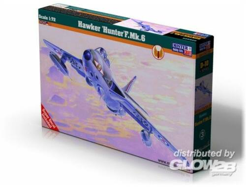 Mistercraft Hawker Hunter F.Mk.6 1:72 (D-10)