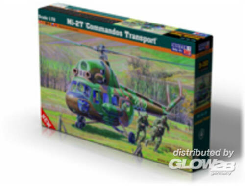 Mistercraft Mi-2T Commandos Transport 1:72 (D-152)
