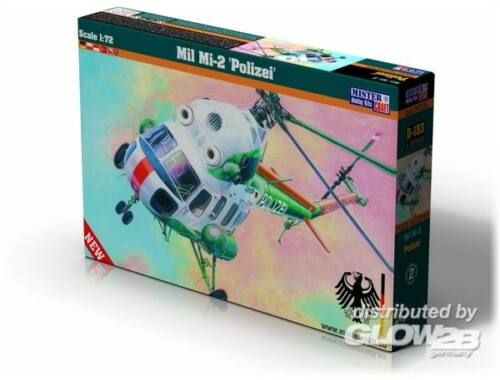 Mistercraft Mi-2 Polizei 1:72 (D-153)