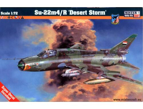 Mistercraft Su-22M4/R Desert Shield 1:72 (D-17)