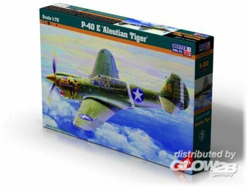Mistercraft P-40E Aleutian Tiger 1:72 (D-202)