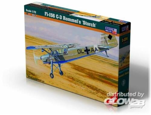 Mistercraft Fi-156 C-3 Rommels Storch 1:72 (D-204)