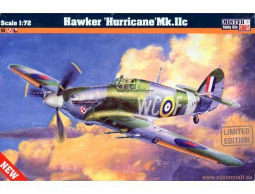 Mistercraft Hawker Hurricane Mk.IIc 1:72 (D-208)