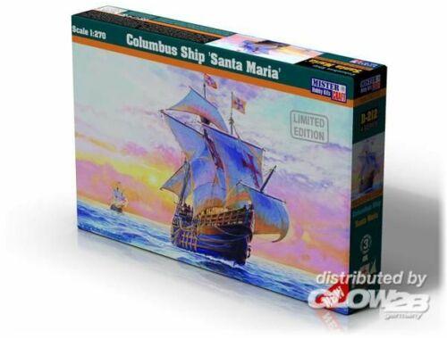 Mistercraft Columbus Ship Santa Maria 1:72 (D-212)