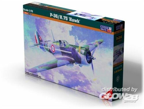 Mistercraft P-36/H.75 Hawk 1:72 (D-214)