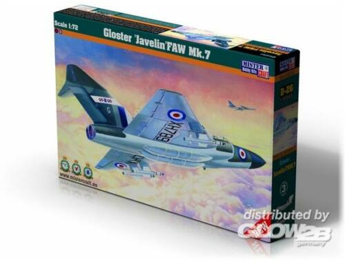Mistercraft Gloster Javelin FAW MK.7 1:72 (D-26)