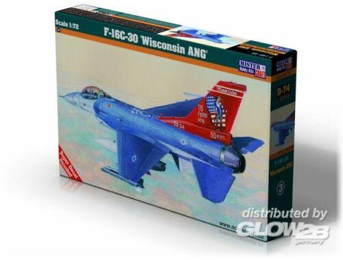 Mistercraft F-16C-30 Wisconsin ANG 1:72 (D-74)
